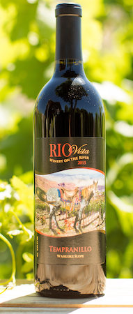 rio vista wines tempranillo 2015 bottle - Rio Vista Wines 2015 Tempranillo, Wahluke Slope, $34