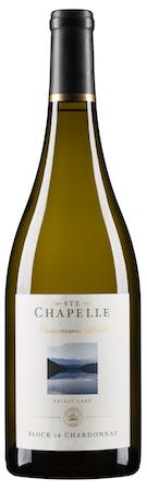 ste chapelle panoramic idaho block 16 chardonnay nv bottle - Ste. Chapelle Winery 2016 Panoramic Idaho Block 16 Chardonnay, Snake River Valley, $20