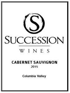 succession wines cab 227x300 - Succession Wines 2015 Cabernet Sauvignon, Columbia Valley, $39