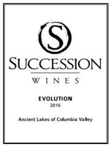 succession wines evolution 226x300 - Succession Wines 2016 Evolution White Wine, Ancient Lakes of Columbia Valley, $24