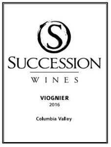 succession wines viognier 227x300 - Succession Wines 2016 Viognier, Columbia Valley, $26
