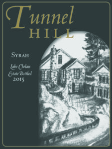 tunnel hill syrah 225x300 - Tunnel Hill Winery 2015 Estate Syrah, Lake Chelan, $30