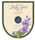 belle esprit estate verdejo 2015 label 120x134 - Belle Espirt 2015 Estate Verdejo, Rogue Valley, $29