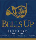 bells up winery summit view vineyard firebird syrah 2015 label 120x134 - Bells Up Winery 2015 Summit View Vineyard Firebird Syrah, Walla Walla Valley, $36