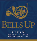 bells up winery titan pinot noir 2015 label 120x134 - Bells Up Winery 2015 Titan Pinot Noir, Willamette Valley, $40