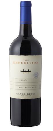 canoe ridge vineyard expedition merlot nv bottle - Canoe Ridge Vineyard 2015 The Expedition Merlot, Horse Heaven Hills, $16