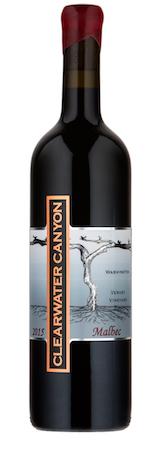 clearwater canyon cellars verhey vineyard malbec 2015 bottle - Clearwater Canyon Cellars 2015 Verhey Vineyard Malbec, Washington, $28