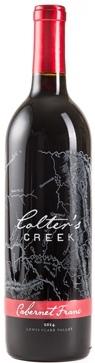 colters creek vineyard cabernet franc nv bottle - Colter's Creek Winery 2014 Cabernet Franc, Lewis-Clark Valley, $28