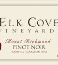 elk cove vineyards mount richmond pinot noir 2015 label 120x134 - Elk Cove Vineyards 2015 Mount Richmond Pinot Noir, Yamhill-Carlton, $60