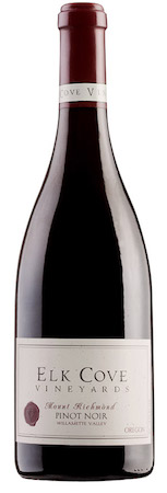 elk cove vineyards mount richmond pinot noir nv bottle - Elk Cove Vineyards 2015 Mount Richmond Pinot Noir, Yamhill-Carlton, $60