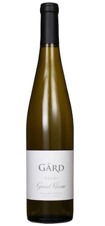 gard vintners grand klasse reserve riesling nv bottle - Gård Vintners 2014 Lawrence Vineyard Grand Klasse Reserve Riesling, Columbia Valley, $24