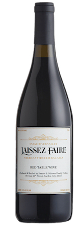 laissez faire red nv bottle - Laissez Faire 2016 Red Table Wine, Snake River Valley, $16