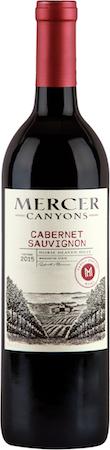 mercer canyons cabernet sauvignon 2015 bottle - Mercer Canyons 2015 Cabernet Sauvignon, Horse Heaven Hills, $17