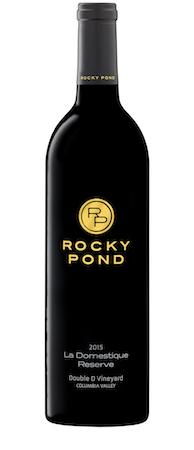 rocky pond winery la domestique reserve red wine 2015 bottle - Rocky Pond Winery 2015 Double D Vineyard Estate La Domestique Reserve Red Wine, Columbia Valley, $50