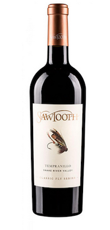 sawtooth classic fly series tempranillo nv bottle - Sawtooth Estate Winery 2014 Classic Fly Series Tempranillo, Snake River Valley, $30