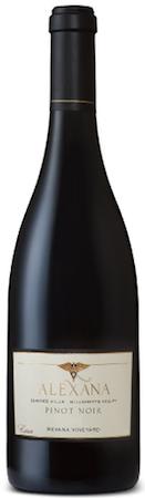 alexana winery revana vineyard pinot noir 2015 bottle - Alexana Winery 2015 Revana Vineyard Pinot Noir, Dundee Hills, $49