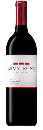 armstrong family winery four birds red wine 2014 bottle - Armstrong Family Winery 2014 Four Birds Red Wine, Columbia Valley, $32