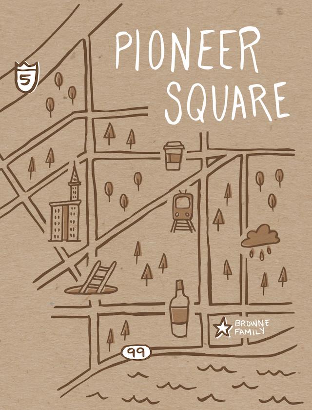 browne family vineyards pioneer square map - Browne Family Vineyards adds downtown Seattle tasting room