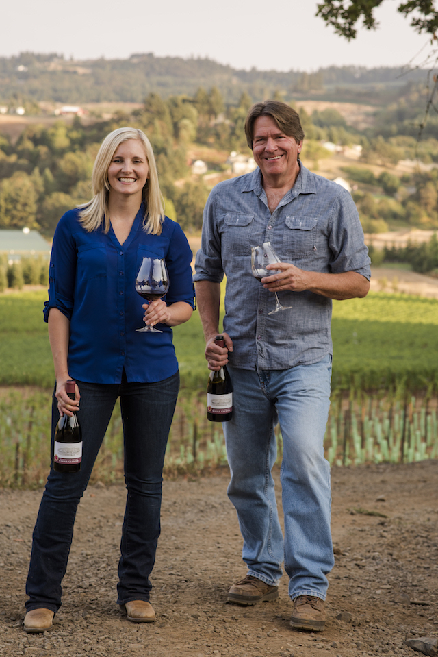 christine collier jim bernau willamette valley vineyards - 2019 American Wine Society conference casts spotlight on Pacific Northwest