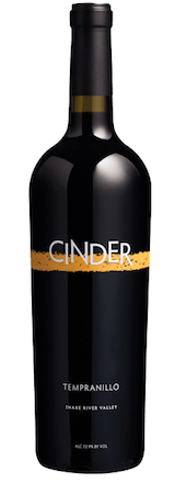 cinder wines tempranillo nv bottle - Cinder Wines 2015 Tempranillo, 53% Idaho, 47% Washington, $29