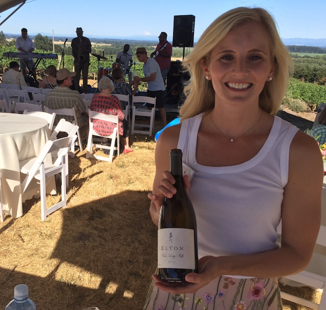 elton vineyard christine clair 2017 - Willamette Valley Vineyards buys Maison Bleue, plans vineyard