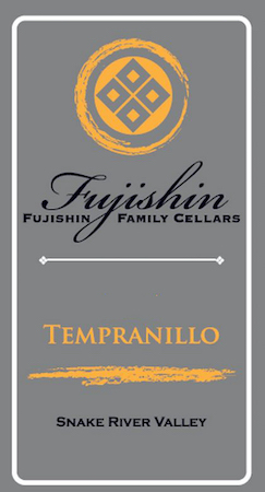 fujishin family cellars tempranillo nv label - Tempranillo gaining in popularity across Northwest