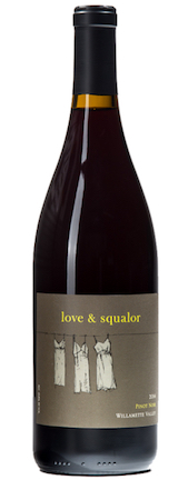 love and squalor pinot noir nv bottle - Love & Squalor 2015 Pinot Noir, Willamette Valley, $28