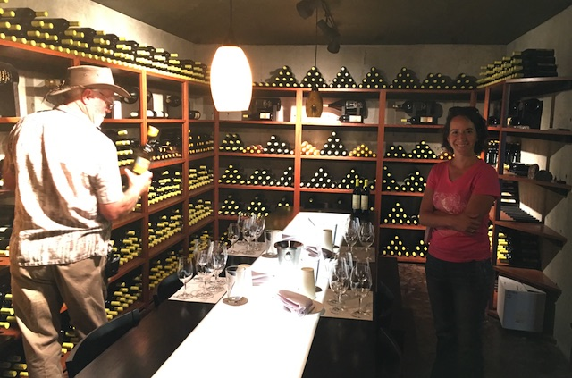 melanie krause raiding abacela cellar - Cinder Wines buys Tempranillo fruit from famed Abacela