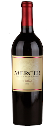 mercer estates malbec 2015 bottle - Mercer Estates 2015 Malbec, Horse Heaven Hills, $25
