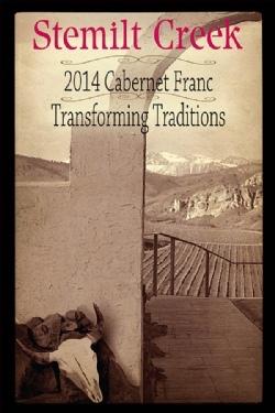 stemilt creek transforming traditions cabernet franc 2014 label - Stemilt Creek Winery 2014 Transforming Traditions Cabernet Franc, Columbia Valley, $34