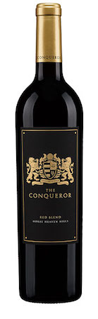 the conqueror winery red blend nv bottle - The Conqueror Winery 2014 Red Blend, Horse Heaven Hills, $27