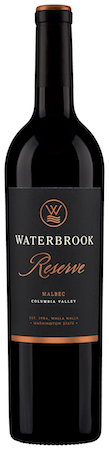 waterbrook winery reserve malbec nv bottle - Waterbrook Winery 2014 Reserve Malbec, Columbia Valley, $23