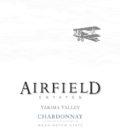 airfield estates chardonnay nv label 120x134 - Airfield Estates 2015 Chardonnay, Yakima Valley, $15