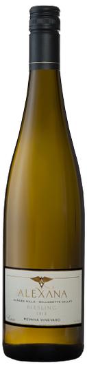 alexana winery revana vineyard estate riesling 2016 bottle - Alexana Estate Vineyard and Winery 2016 Revana Vineyard Estate Riesling, Dundee Hills, $32