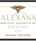 alexana winery revana vineyard estate riesling 2016 label 120x134 - Alexana Estate Vineyard and Winery 2016 Revana Vineyard Estate Riesling, Dundee Hills, $32