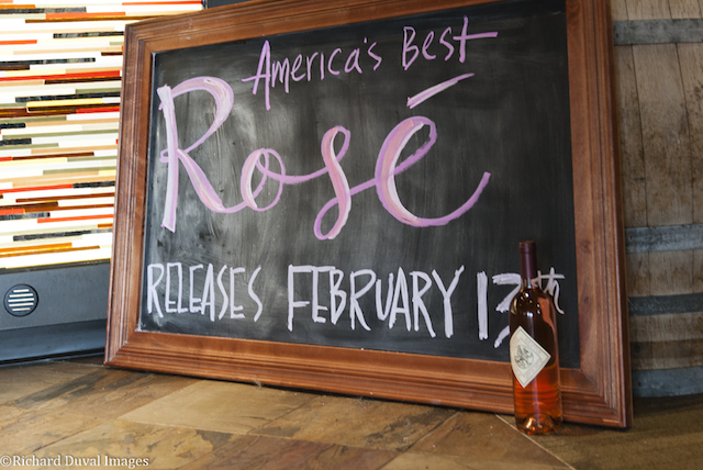 america best rose chalkboard 2018 richard duval images - Barnard Griffin plants first kiss with Sangiovese rosé on Valentine's Day