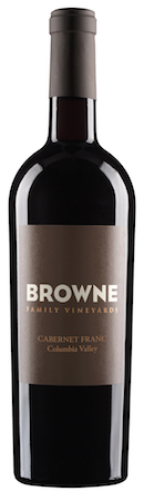 browne family vineyards cabernet franc nv bottle - Browne Family Vineyard 2014 Cabernet Franc, Columbia Valley, $35