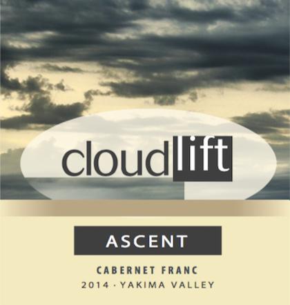 cloudlift cellars ascent cabernet franc 2014 label - Cloudlift Cellars 2014 Ascent Cabernet Franc, Yakima Valley, $28