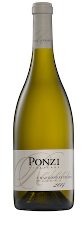 ponzi vineyards chardonnay reserve 2014 bottle - Ponzi Vineyards 2014 Chardonnay Reserve, Willamette Valley, $40