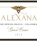 alexana winery lonesome spring ranch gran coeur 2014 label 120x134 - Alexana Winery 2014 Lonesome Spring Ranch Gran Coeur Red Wine, Columbia Valley, $50