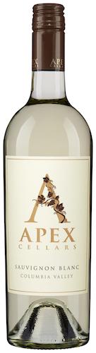 apex cellars sauvignon blanc nv bottle - Apex Cellars 2016 Sauvignon Blanc, Columbia Valley, $15