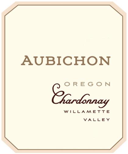 aubichon chardonnay nv label - Aubichon Cellars 2015 Chardonnay, Willamette Valley, $35