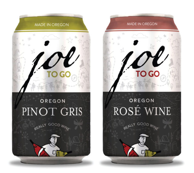 joe to go cans oregon e1521415233213 - Oregon's Wine by Joe opens up cans into 14 states as Joe to Go