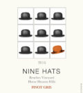 nine hats wines benches vineyard pinot gris 2016 label 1 120x134 - Nine Hats Wines 2016 Benches Vineyard Pinot Gris, Horse Heaven Hills, $14