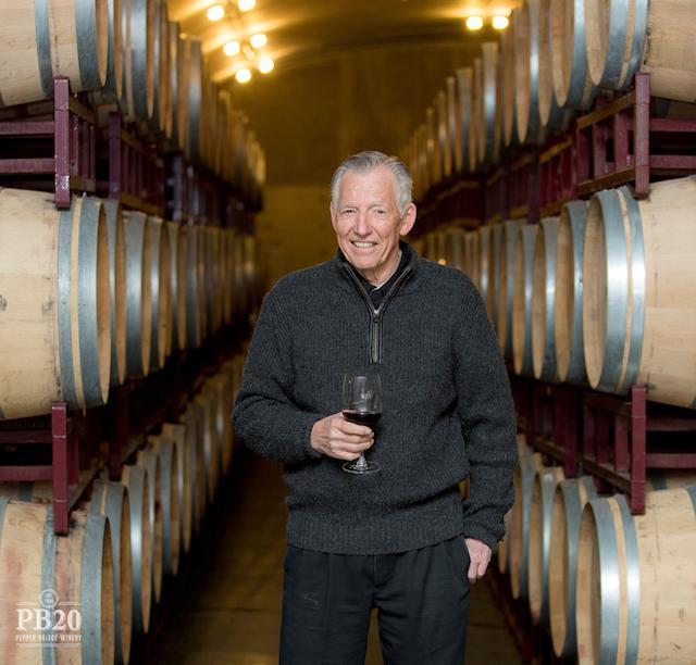 norm mckibben pepper bridge winery - Norm McKibben of Pepper Bridge headlines Northwest Wine Encounter