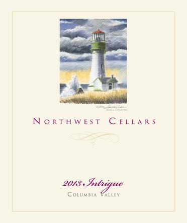 northwest cellars intrigue red wine 2013 label - Northwest Cellars 2013 Intrigue Red Wine, Columbia Valley, $32