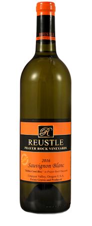 reustle prayer rock vineyards estate cuvee sauvignon blanc 2016 bottle - Reustle-Prayer Rock Vineyard 2016 Estate Cuvée Sauvignon Blanc, Umpqua Valley, $23