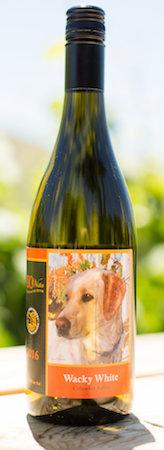 rio vista wines wacky white 2016 bottle - Rio Vista Wines 2016 Wacky White, Columbia Valley, $22