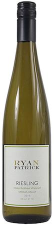 ryan patrick wines olsen brothers vineyard riesling 2016 bottle - Ryan Patrick Wines 2016 Olsen Brothers Vineyard Riesling, Yakima Valley, $12