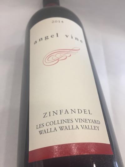 Angel Vine Zin - Angel Vine 2014 Les Collines Vineyard Zinfandel, Walla Walla Valley, $24